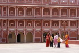 People at monument in Jaipur