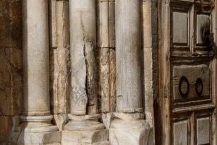 Pillars in Jerusalem