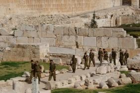 Soldiers in Jerusalem