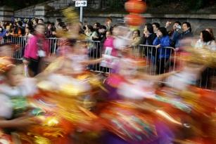 Hong Kong parade