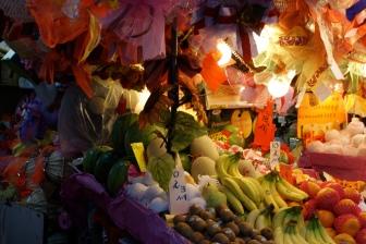 Food market in Hong Kong