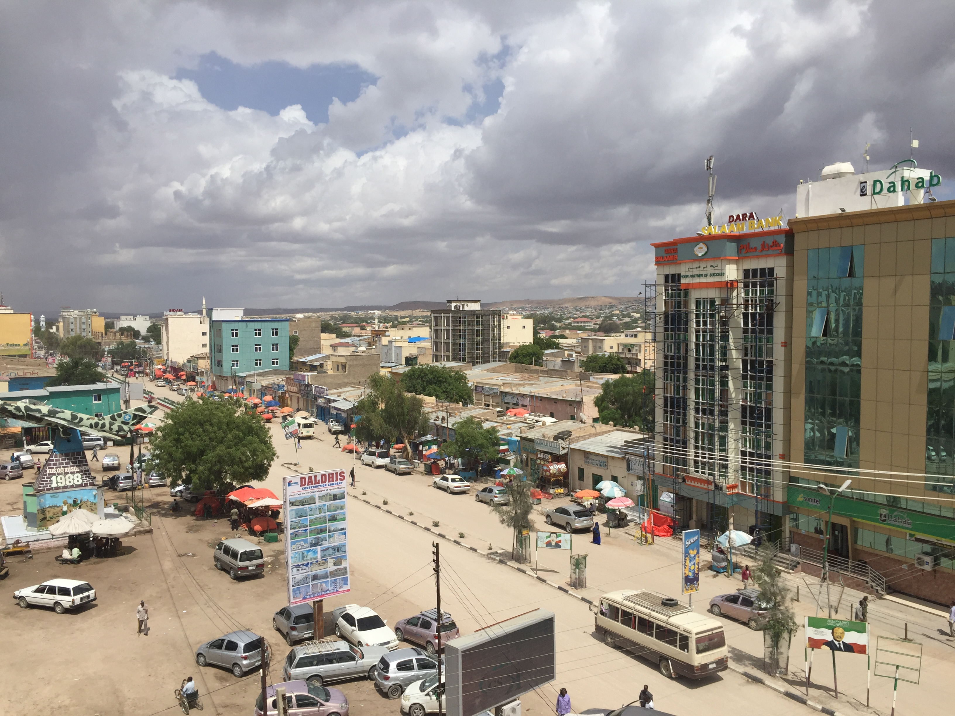 View of downtown Hargeisa