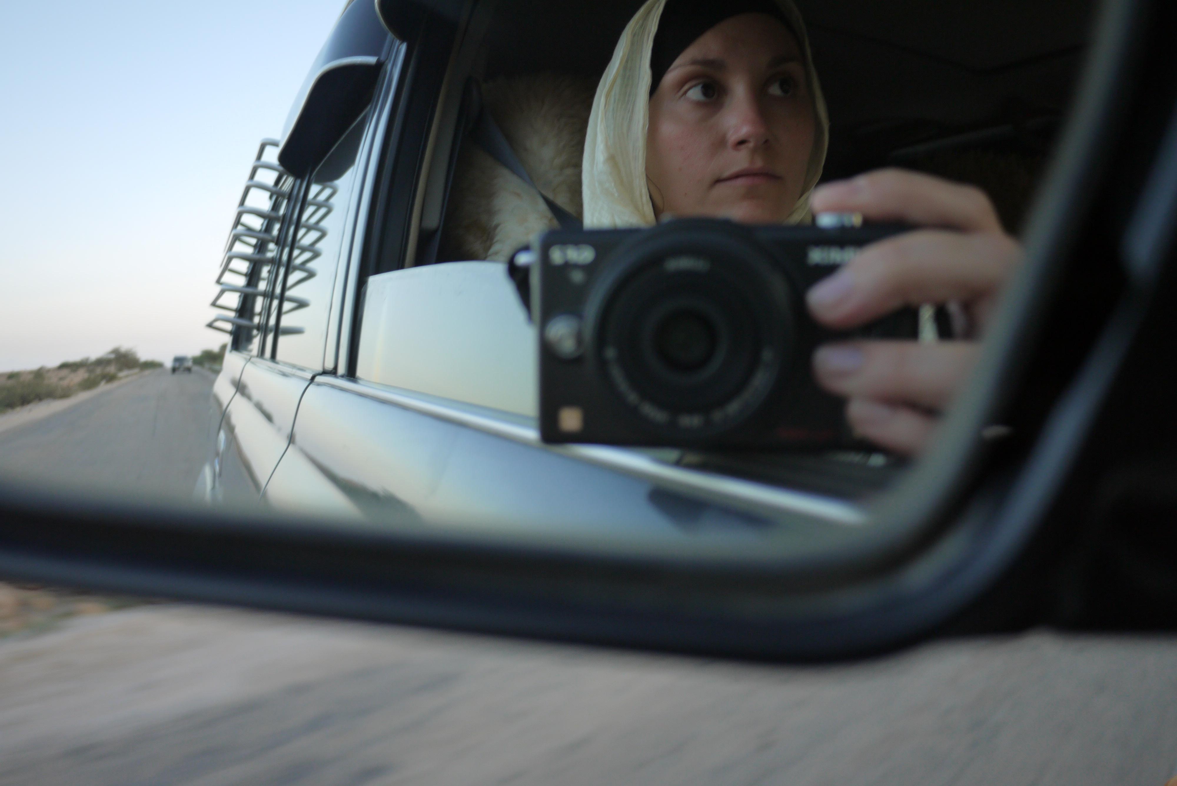Anna with camera
