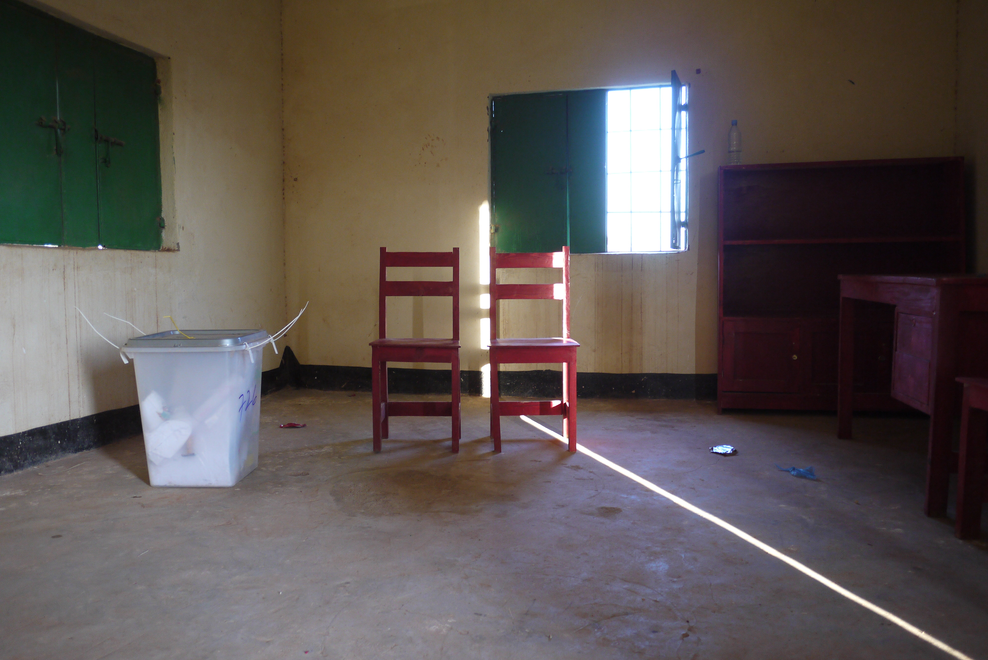 Empty polling centre, Somaliland