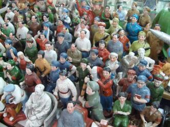 Figurines in Hong Kong